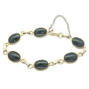 🧚♀️ Boho Chic Bracelet Vintage Black ONYX STONE